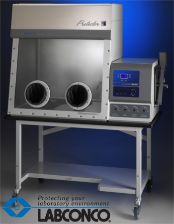 Labconco Protector© Stainless Steel ULPA Filtered Glove Box